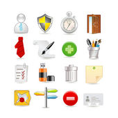 Universal set of icons — Stock Vector