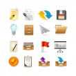 Projects and documents icons — Stock Vector