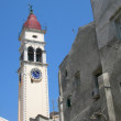 Stock Photo: Church of St. Spiridon at Corfu