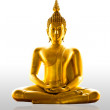 Buddha statue Isolated — Stock Photo #3824884