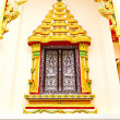 Thai Temple window — Stock Photo