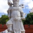 Chinese warrior statue — Stock Photo