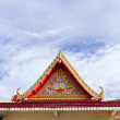 Stock Photo: Thai temple roof