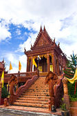 Thai temple church — Stock Photo