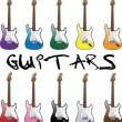Guitar Set - Stock Vector