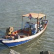 Stock Photo: Small Thai fishing boat
