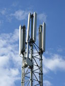 Mobile phone mast — Stock Photo