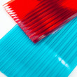 Polycarbonate sheets - Stockfoto