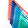Polycarbonate sheets - Stock Photo