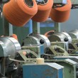 Factory on manufacture of threads — Stock Photo