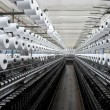 Factory on manufacture of threads - Stok fotoğraf