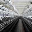 Factory on manufacture of threads - Zdjęcie stockowe
