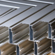 Aluminium profile — Stock Photo #3826763