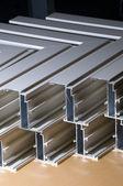 Aluminium profile — Stock Photo