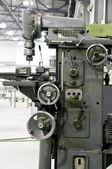 Boring machine in the workshop — Stock Photo