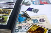Postage stampses — Stock Photo
