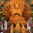 Thousand hands buddha statues — Photo