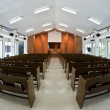 Inside church building — Stock Photo