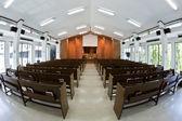 Inside church building — Stock Photo