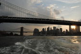 Manhattan downtown — Stock Photo