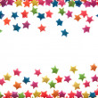 Stock Photo: Star sort Scatter