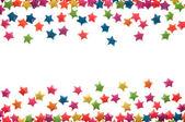 звезды сортировки разброс — Стоковое фото