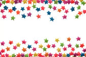 A dispersão do tipo estrela — Foto Stock