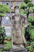 Guan Yu Statue — Stock Photo