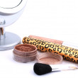 Stock Photo: Women's accessories, make-up