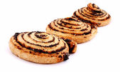 Cookies with poppy seeds for tea — Stock Photo