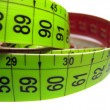 Measuring tape on white — Stock Photo #3858404