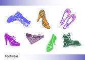 Schuhe — Stockvektor