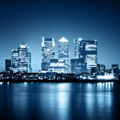 Canary Wharf, London — Stock Photo