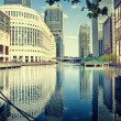Canary Wharf, London. — Stock Photo #3827481