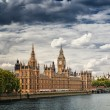 Houses of Parliament, London. - Foto de Stock