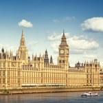 Вестминстерский дворец, Лондон — Стоковое фото