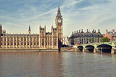 Casas do parlamento, londres. — Foto Stock