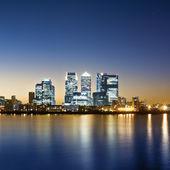 Canary Wharf, London. — Stock Photo