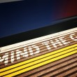 MIND THE GAP — Stock Photo #3856480