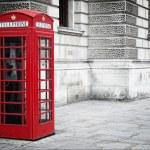 Red phone box — Stock Photo #3856628