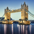 Tower Bridge, London. — 图库照片