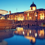 Trafalgar Square, London. — Stock Photo #3856715