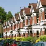English Homes. — Stock Photo