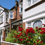English Homes — Stock Photo