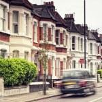 Street in London. — Stock Photo