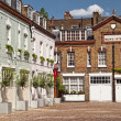 Mews Houses in London — Stock Photo #3879692