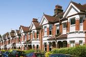 Inglês casas. — Foto Stock