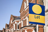 Property To LET, London. — Stock Photo