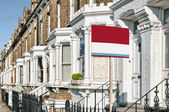 Apartments Building in West-London. — Stock Photo