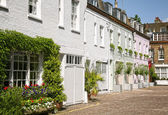 Mews Houses in London. — Stockfoto